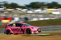Round 10 of the 2018 British Touring Car Championship.  #600 Sam Tordoff. Team GardX Racing. Ford Focus RS.