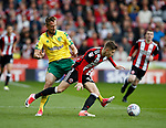 David Brooks of Sheffield Utd during the Championship match at Bramall Lane Stadium, Sheffield. Picture date 16th September 2017. Picture credit should read: Simon Bellis/Sportimage