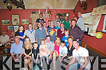 Kevin McCabe of the Tochar Ba?n who celebrated his 30th Birthday with his Family and friends on Friday night in the Tocha?ir Ba?n, Kilmoyley...