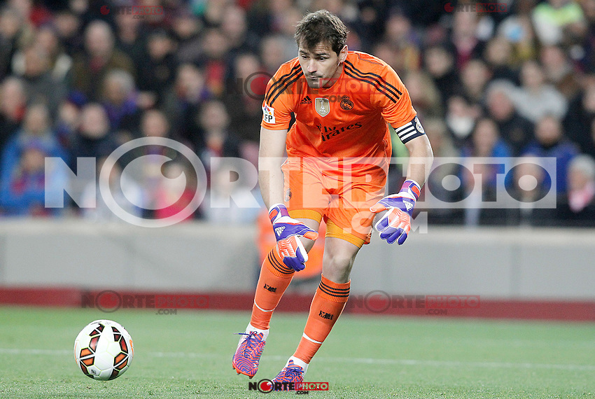 Real Madrid's Iker Casillas during La Liga match.March 22,2015. (ALTERPHOTOS/Acero) /NORTEphoto.com