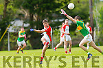 Kilcummin's James Devane goes for a point at The Garvey's SuperValu Senior County Championship round 1 Kilcummin V South Kerry at Kilcummin GAA ground on Sunday