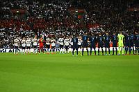 Schweigeminute zum englischen Volkstrauertag - 10.11.2017: England vs. Deutschland, Freundschaftsspiel, Wembley Stadium