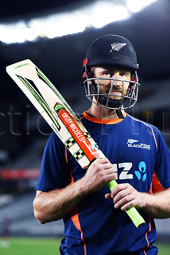 20th March 2018, Eden Park, Auckland, New Zealand;  NZ Captain Kane Williamson during the New Zealand Blackcaps twilight training session ahead of the 1st day/night test match against England