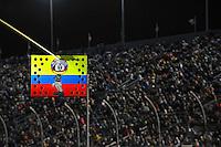 Pit sign for Juan Pablo Montoya (#42).