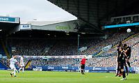 Leeds United's Pablo Hernandez sees his freekick hit the wall<br /> <br /> Photographer Alex Dodd/CameraSport<br /> <br /> The EFL Sky Bet Championship - Leeds United v Charlton Athletic - Wednesday July 22nd 2020 - Elland Road - Leeds <br /> <br /> World Copyright © 2020 CameraSport. All rights reserved. 43 Linden Ave. Countesthorpe. Leicester. England. LE8 5PG - Tel: +44 (0) 116 277 4147 - admin@camerasport.com - www.camerasport.com