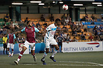 West Ham United (in purple) vs Olympique Marseille (in white), during their Main Tournament match, part of the HKFC Citi Soccer Sevens 2017 on 27 May 2017 at the Hong Kong Football Club, Hong Kong, China. Photo by Chris Wong / Power Sport Images