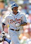 13 March 2007: Detroit Tigers outfielder Curtis Granderson in action against the Los Angeles Dodgers at Holman Stadium in Vero Beach, Florida.<br /> <br /> Mandatory Photo Credit: Ed Wolfstein Photo