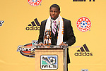 13 January 2011: Houston Dynamo selected Kofi Sarkodie with the #7 overall pick. The 2011 MLS SuperDraft was held in the Ballroom at Baltimore Convention Center in Baltimore, MD during the NSCAA Annual Convention.