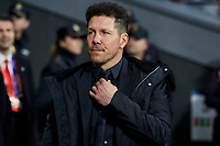 Atletico de Madrid's coach Diego Pablo Simeone during UEFA Champions League match, Round of 16, 1st leg between Atletico de Madrid and Juventus at Wanda Metropolitano Stadium in Madrid, Spain. February 20, 2019. (Insidefoto/ALTERPHOTOS/A. Perez Meca)<br /> ITALY ONLY