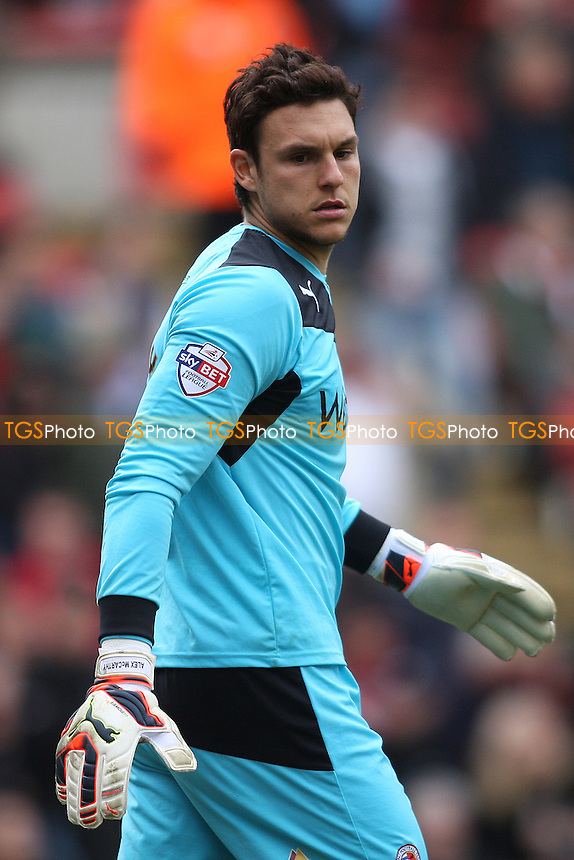 Alex McCarthy of Reading- Charlton Athletic vs Reading - Sky Bet Championship Football at the Valley, London - 05/04/14 - MANDATORY CREDIT: George Phillipou/TGSPHOTO - Self billing applies where appropriate - 0845 094 6026 - contact@tgsphoto.co.uk - NO UNPAID USE