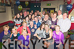 SURPRISE: What a shock Dominic Cunningham of New Marian park, Tralee got as he arrived to Turners Bar, Tralee on Friday night as many of his family and friends gathered to wish him a very happy 50th birthday (dominic is seated 2nd from left).................................. ....