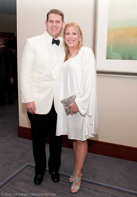 Shawn Raymond, Board Chair for the Houston Area Women's Center with his wife Alicia Raymond.