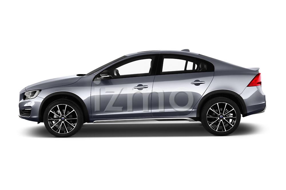 Car driver side profile view of a 2017 Volvo S60 T5 Platinum 4 Door Sedan