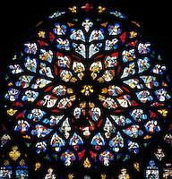 Europe/France/89/Bourgogne/Yonne/Sens: Vitrail de la cathédrale Saint Etienne