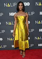 27 July 2019 - Hollywood, California - MJ Rodriguez. 2019 NALIP Latino Media Awards held at The Ray Dolby Ballroom. Photo Credit: Birdie Thompson/AdMedia