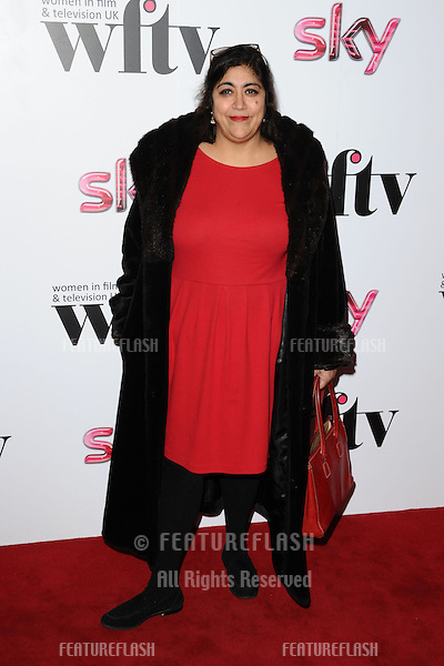 Gurinder Chadha arriving for the Women in Film and Tv Awards 2012 at the Park Lane Hilton, London. 07/12/2012 Picture by: Steve Vas / Featureflash