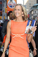 NEW YORK, NY - July 17, 2012: Lara Spencer at Good Morning America studios in New York City. &copy; RW/MediaPunch Inc. *NORTEPHOTO*<br />