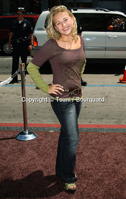 Skye McCole Bartusiak arriving at the Charlie And The Chocolat Factory Premiere at the Chinese Theatre In Los Angeles. Jyly 10, 2005.