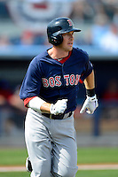Boston Red Sox shortstop Stephen Drew #7 during a Grapefruit League Spring Training game against the Tampa Bay Rays at Charlotte County Sports Park on February 25, 2013 in Port Charlotte, Florida.  Tampa Bay defeated Boston 6-3.  (Mike Janes/Four Seam Images)