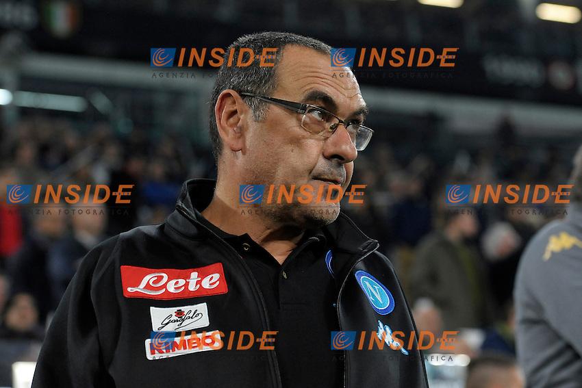 Maruzio Sarri Napoli <br /> Torino 29-10-2016 Juventus Stadium Football Calcio Serie A 2016/2017 Juventus - Napoli . Foto Filippo Alfero Insidefoto