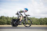Luke Durbridge (AUS/Orica-GreenEDGE) speeding along<br /> <br /> Elite Men TT<br /> UCI Road World Championships / Richmond 2015