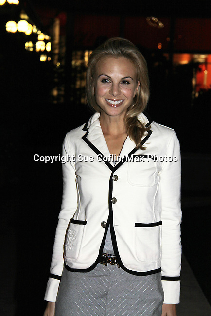 Elisabeth Hasselbeck attends ABC Daytime Soap Casino Night with the Stars on October 28, 2010 at Guastavinos, New York City, New York. (Photo by Sue Coflin/Max Photos)