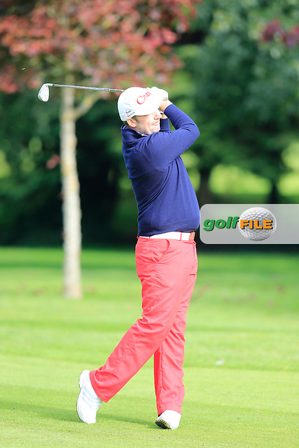 David Barry (Douglas GC) during the final round of the Irish PGA Championship, Dundalk Golf Club, Dundalk Co Louth. 04/10/2015<br /> Picture Golffile | Fran Caffrey | PGA<br /> <br /> <br /> All photo usage must carry mandatory copyright credit (&copy; Golffile | Fran Caffrey | PGA)