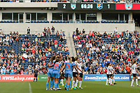 Bridgeview, IL - Sunday June 25, 2017: Sofia Huerta during a regular season National Women's Soccer League (NWSL) match between the Chicago Red Stars and Sky Blue FC at Toyota Park. The Red Stars won 2-1.
