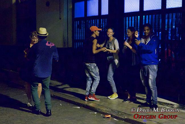 Dancing Outside Café Paris