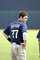 Chris Bisson - 2010 AZL Padres - playing against the AZL Mariners on the final day of the regular season at Peoria Stadium, Peoria, AZ - 08/29/2010.Photo by:  Bill Mitchell/Four Seam Images..