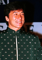 HK actor and director Jackie Chan e  speak about his work, in a press conference  before receiving a Special Grand Prize of the Americas, from <br /> Montreal World Film Festival's President &amp; founder ; <br /> Serge Losique, Sept 1st , 2001 in Montreal, CANADA.