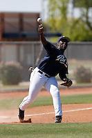 Edinson Rincon - San Diego Padres - 2009 spring training.Photo by:  Bill Mitchell/Four Seam Images
