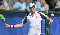 www.acepixs.com<br /> <br /> February 20 2017, Delray Beach<br /> <br /> Sam Querrey at the 2017 Delray Beach Open an ATP 250 event on February 20 2017 in Delray Beach, Florida.<br /> <br /> By Line: Solar/ACE Pictures<br /> <br /> ACE Pictures Inc<br /> Tel: 6467670430<br /> Email: info@acepixs.com<br /> www.acepixs.com