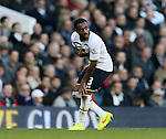 Tottenham's Danny Rose gets injured<br /> <br /> - Barclays Premier League - Tottenham Hotspur vs Stoke City- White Hart Lane - London - England - 9th November 2014  - Picture David Klein/Sportimage
