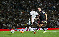 Leeds United's Edward Nketiah scores his side's first goal  <br /> <br /> Photographer Alex Dodd/CameraSport<br /> <br /> The Carabao Cup Second Round- Leeds United v Stoke City - Tuesday 27th August 2019  - Elland Road - Leeds<br />  <br /> World Copyright © 2019 CameraSport. All rights reserved. 43 Linden Ave. Countesthorpe. Leicester. England. LE8 5PG - Tel: +44 (0) 116 277 4147 - admin@camerasport.com - www.camerasport.com
