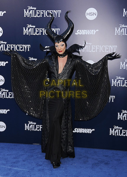 HOLLYWOOD, CA- MAY 28: Costume Designer Shokra arrives at the World Premiere Of Disney's 'Maleficent' at the El Capitan Theatre on May 28, 2014 in Hollywood, California.<br /> CAP/ROT/TM<br /> &copy;Tony Michaels/Roth Stock/Capital Pictures
