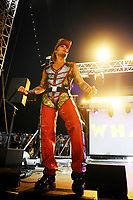 LONDON, ENGLAND - JUNE 3: Donny Latupeirissa of 'Vengaboys' performing at Mighty Hoopla at Brockwell Park, Brixton on June 3, 2018 in London<br /> CAP/MAR<br /> &copy;MAR/Capital Pictures