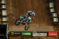 SX1 / Geran Stapleton<br /> Monster Energy Aus-XOpen<br /> Supercross & FMX International<br /> Qudos Bank Arena, Olympic Park NSW<br /> Sydney AUS Sunday 12  November 2017. <br /> © Sport the library / Jeff Crow
