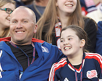 New England Revolution fans.In a Major League Soccer (MLS) match, the New England Revolution (blue/red) defeated Philadelphia Union (blue/white), 2-0, at Gillette Stadium on April 27, 2013.