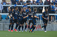 San Jose, CA - June 14, 2017: San Jose Earthquakes advanced to the Round of 16 in the 2017 Lamar Hunt U.S. Open Cup with a 2-0 victory against the San Francisco Deltas .
