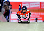 17 December 2010: Donna Creighton sliding for Great Britain, finishes 6th for the day at the Viessmann FIBT Skeleton World Cup Championships in Lake Placid, New York, USA. Mandatory Credit: Ed Wolfstein Photo