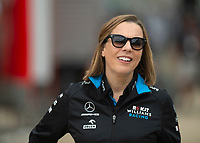 Claire WILLIAMS (GBR) (ROKIT WILLIAMS RACING) Team principal during the Formula 1 Rolex British Grand Prix 2019 at Silverstone Circuit, Towcester, England on 14 July 2019. Photo by Vince  Mignott.