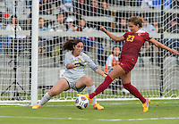 San Jose, CA - December 4, 2016: The NCAA Women's Soccer Championships Finals; The West Virginia Mountaineers vs the USC Trojans at Avaya Stadium. Final score, West Virginia 1, USC Trojans 3.