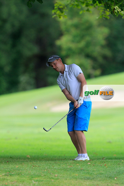Geoff Lenehan (Portmarnock) on the 15th during round 3 of The Mullingar Electrical Scratch Trophy in Mullingar Golf Club on Monday 4th August 2014.<br /> Picture:  Thos Caffrey / www.golffile.ie