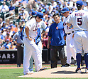 Daisuke Matsuzaka, Terry Collins (Mets), <br /> JUNE 15, 2014 - MLB : Daisuke Matsuzaka of the New York Mets  during the first inning of a Major League Baseball game against the San Diego Padres at Citi Field in Flushing, New York, USA.<br /> (Photo by AFLO)