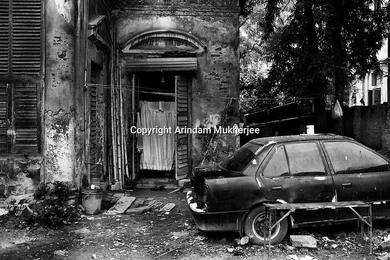 An old house in Repon street neighbour hood. Kolkata