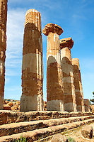 Temple of Hercules, Agrigento, sicily