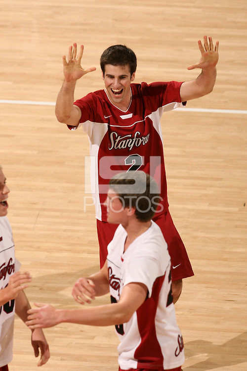 STANFORD, CA - JANUARY 30:  Jarod Keller of the Stanford Cardinal during Stanford's 3-2 win over the Long Beach State 49ers on January 30, 2009 at Maples Pavilion in Stanford, California.