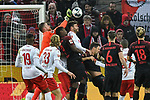 30.11.2019, Rheinenergiestadion, Köln, GER, DFL, 1. BL, 1. FC Koeln vs FC Augsburg, DFL regulations prohibit any use of photographs as image sequences and/or quasi-video<br /> <br /> im Bild Timo Horn (#1, 1.FC Köln / Koeln) pariert den Ball<br /> <br /> Foto © nordphoto/Mauelshagen
