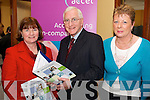 LAUNCH: Mary Lyne (Education co-ordinator, South Kerry Partnership), Joe Barry (Accel Project Manager) and Vera O'Sullivan (Temmler Ireland, Killorglin)  at the launch of the South Kerry Networks Project in Caherciveen on Friday last.